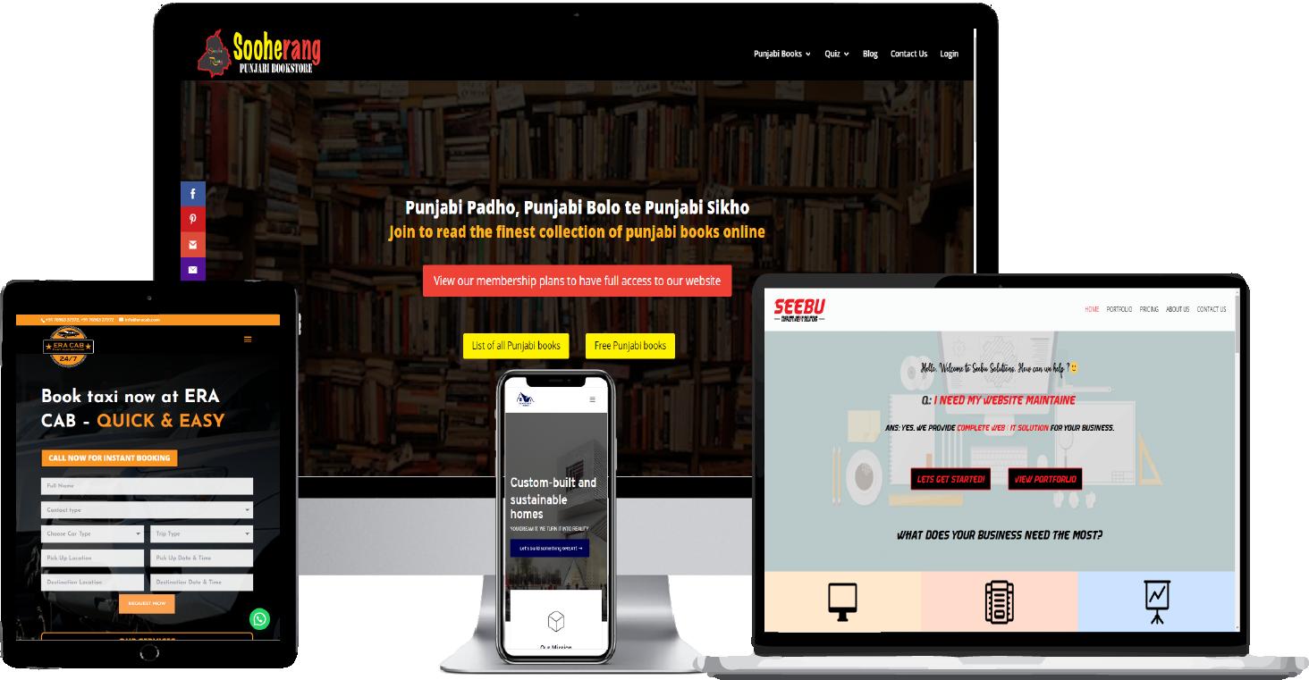100 % responsive layout at seebu solutions
